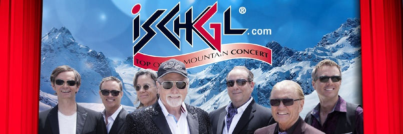 Ischgl Winter Opening 2015 mit den Beach Boys