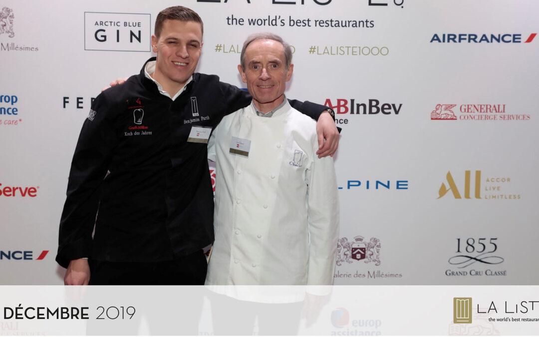"""La Liste 2020: Benjamin Parth mit """"Young Chef Award"""" ausgezeichnet"""